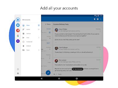screenshot of Microsoft Outlook version 3.0.0