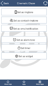 screenshot of Most Popular Ringtones Free version 1.8