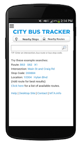 Download New York Bus Tracker™ App 2.7 APK