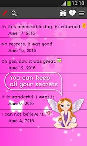 screenshot of My Diary version 7.0