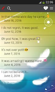 screenshot of My Diary version 6.3