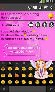 screenshot of My Diary version 6.9