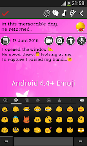 screenshot of My Diary version 6.5