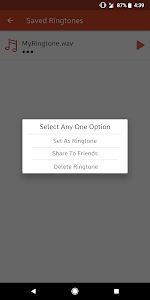 screenshot of My Name Ringtone Maker version 5.5.1