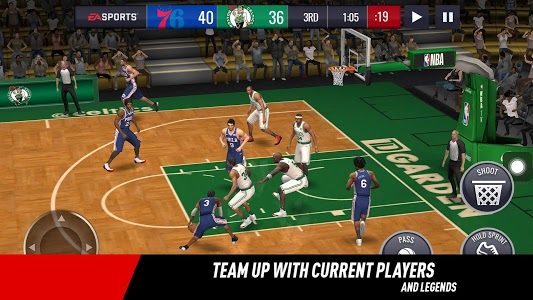 Download NBA LIVE Mobile Basketball 3.1.02 APK