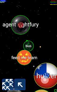 screenshot of Nebulous version 1.5.2.1
