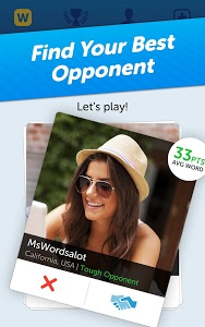 screenshot of Words With Friends version 2.950