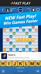 screenshot of Words With Friends version 2.903