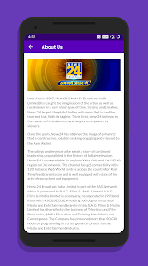 screenshot of News24 - Breaking News First version 3.0.0