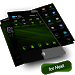 Download RubberGreen NextLauncher Theme 2.0.1 APK