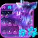 Download Night Sky Spirit Wolf Keyboard Theme 10001004 APK