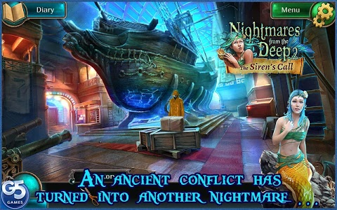 screenshot of Nightmares from the Deep®: The Siren's Call version