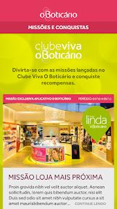 screenshot of O Boticário version 1.4.1