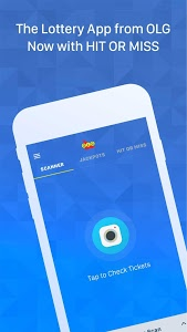 screenshot of OLG Lottery version 2.2.0