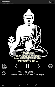 screenshot of Om Meditation All-in-One! version 16.1