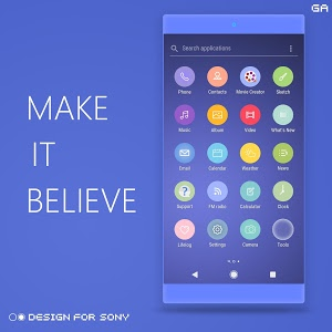 Download OREO XPERIA Theme™ | Design For SONY 2.0.1 APK