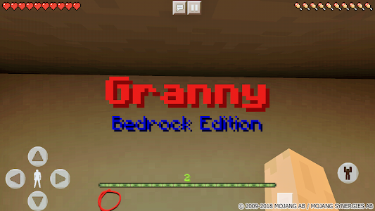Download Old granny. Horror map for MCPE 1.0 APK