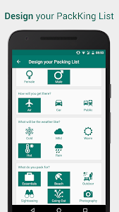 Download Packing List for Travel - PackKing 2.0.2 APK