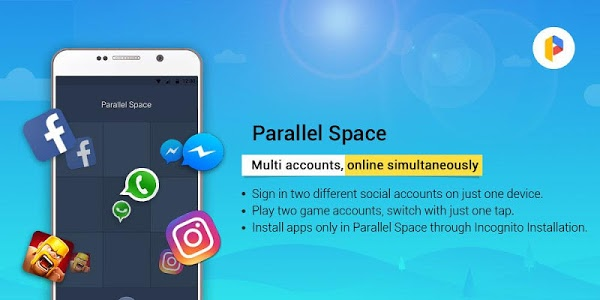 Download Parallel Space - Multiple accounts & Two face 4.0.8616 APK