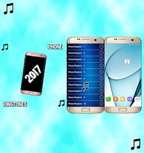 screenshot of phone ringtones 2017 version 1.0