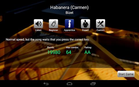 screenshot of Piano Master 2 version 3.1.2