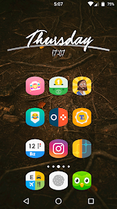 Download Cylinder UI - Pixel Icon Pack 1.2.9 APK