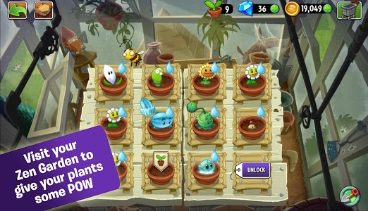 screenshot of Plants vs. Zombies™ 2 version 3.6.1