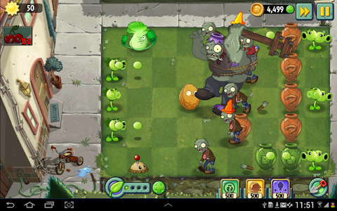 screenshot of Plants vs. Zombies™ 2 version 6.2.1