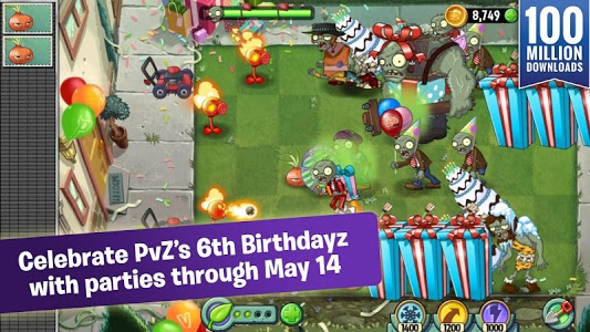 screenshot of Plants vs. Zombies™ 2 version 3.5.1
