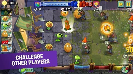 screenshot of Plants vs. Zombies™ 2 version 6.6.1