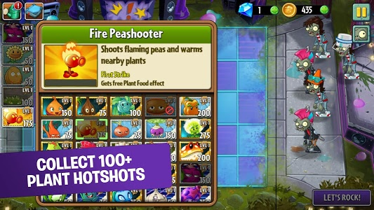 screenshot of Plants vs. Zombies™ 2 version 5.7.1