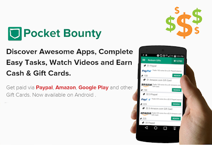 Download PocketBounty - Free Gift Cards 2.45 APK