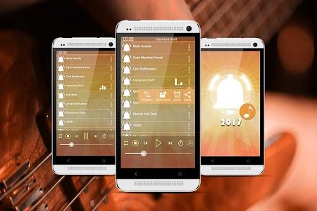 screenshot of Popular Notification Sounds 2017 | Ringtones version 1.1
