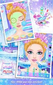 screenshot of Princess Salon: Frozen Party version 1.4