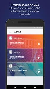 screenshot of Rádio Globo version 3.7.1