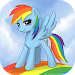 Download Rainbow Dash MLP HD Wallpapers 2.0 APK