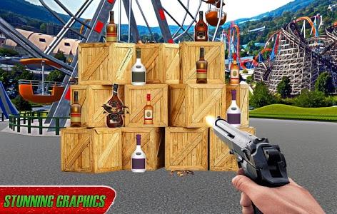 screenshot of Real Bottle Shooting Free Games version 1.0