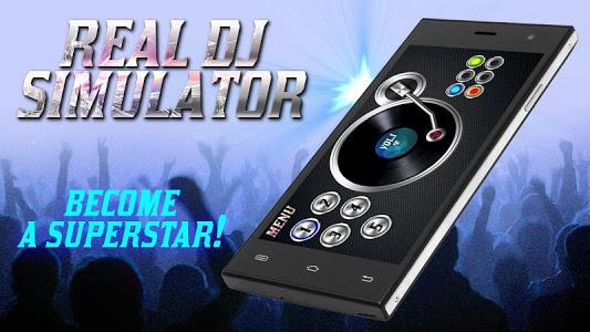 screenshot of Real DJ Simulator version 1.7