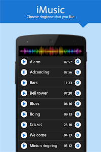 screenshot of Ringtone for IPhone 2017 version 2.4