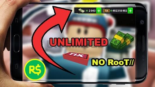 screenshot of Robux For Roblox Simulator version 1.0