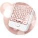 Download Rose Gold Keyboard Theme 1.6.4 APK