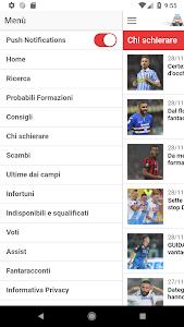 screenshot of SOS Fanta - Fantacalcio version 1.5.6