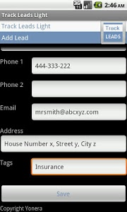 download sales leads tracking lite free 1 3 apk downloadapk net