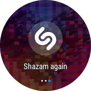 screenshot of Shazam version Varies with device