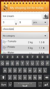 Download Shopping list 1.6 APK