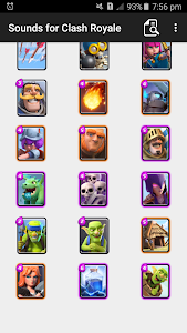 Download Sound Effects for Clash Royale 3.16 APK