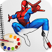 Download Spider Superhero Coloring Book Pages for kids 1.3 APK