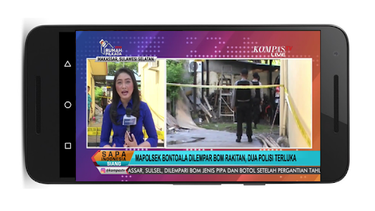 screenshot of TV Indonesia Live version 2.3