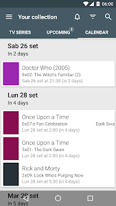 screenshot of TV Series - Your shows manager version 2.15.0.26