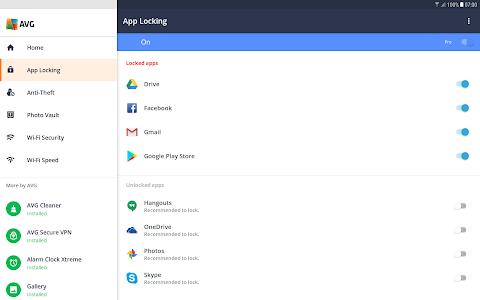 screenshot of Tablet AntiVirus FREE 2019 - Virus Cleaner version 6.15.1